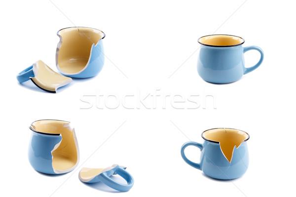 Broken coffee cup Stock photo © Lana_M