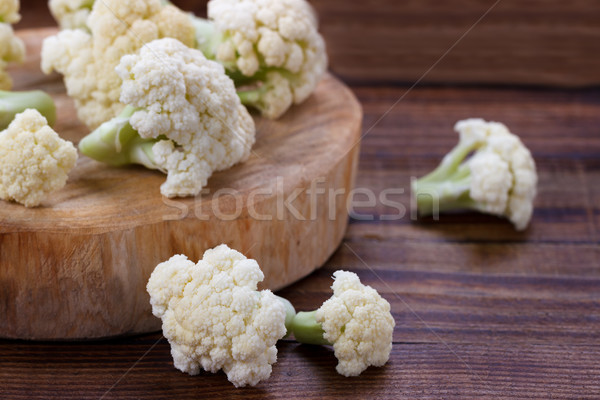Fresh organic cauliflower Stock photo © Lana_M