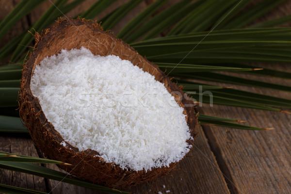 кокосового природного продовольствие Сток-фото © Lana_M