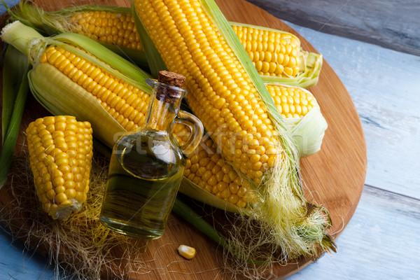 Fresh corn oil Stock photo © Lana_M
