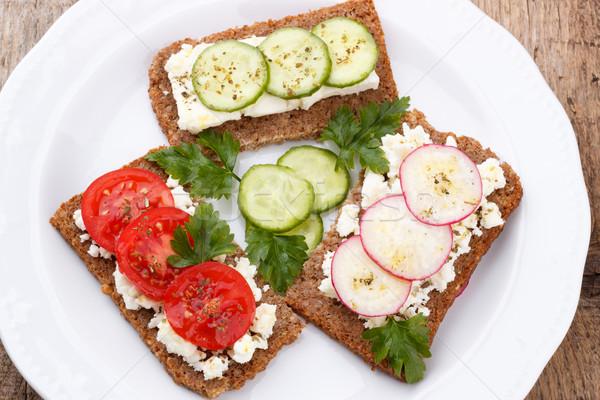 Healhy snacks Stock photo © Lana_M