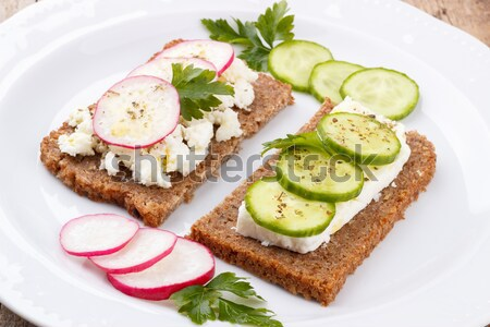 Healhy snack Stock photo © Lana_M