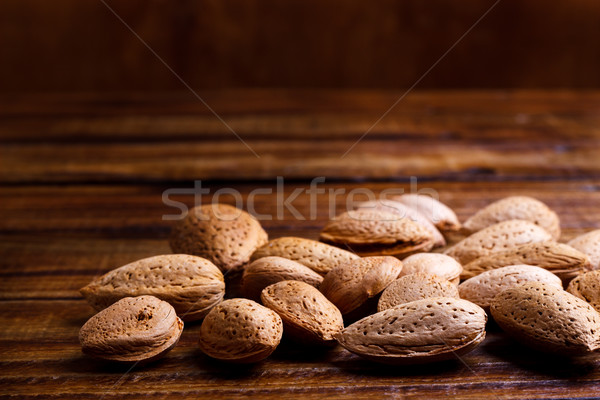 Sweet almonds with kernel Stock photo © Lana_M