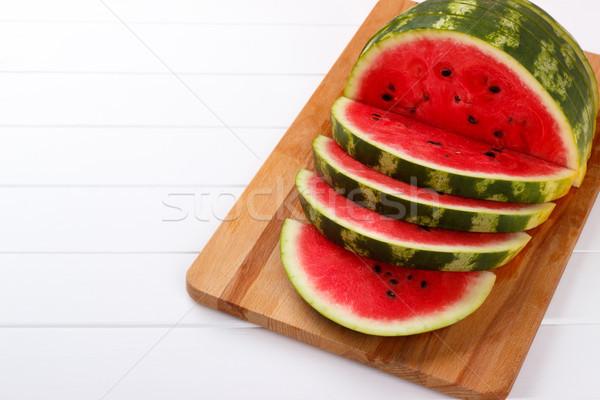 Sliced juicy watermelon Stock photo © Lana_M