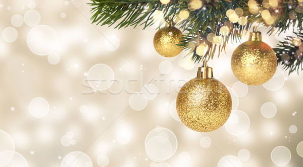 Рождества подвесной новых лет Сток-фото © Lana_M