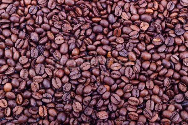 кофе макроса избирательный подход текстуры Сток-фото © Lana_M