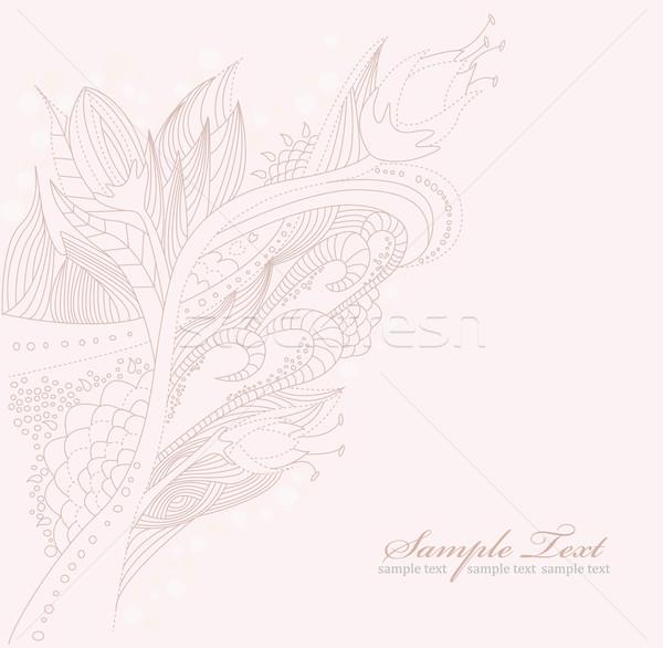 цветочный болван цветок текстуры природы лист Сток-фото © lapesnape