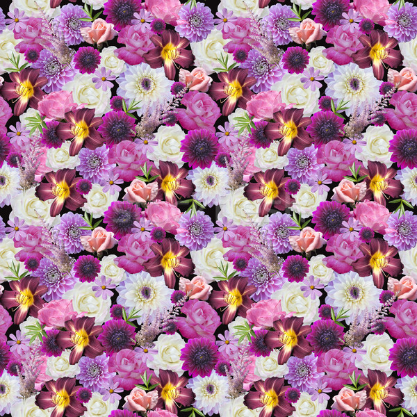 Abstracts seamless floral pattern Stock photo © lapesnape