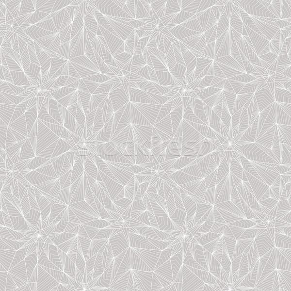 Senza soluzione di continuità abstract disegno geometrico moda sfondo tessuto Foto d'archivio © lapesnape