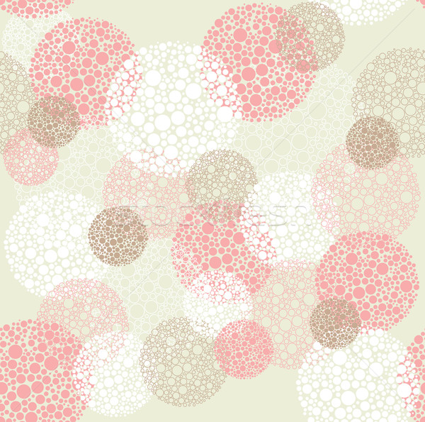 аннотация бесшовный Круги шаблон ткань Сток-фото © lapesnape