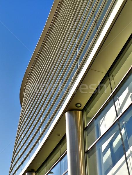 здании современных бизнеса город синий Сток-фото © ldambies