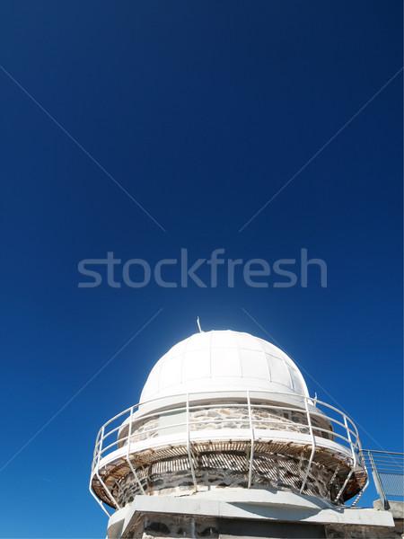 Telescope dome observatory Stock photo © ldambies