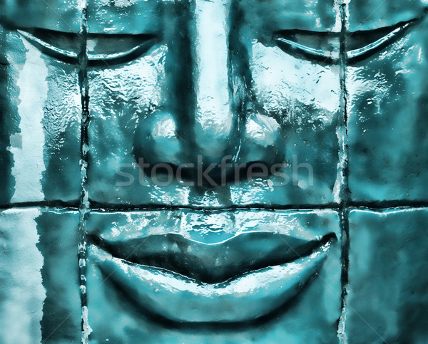 Stock photo: Zen statue