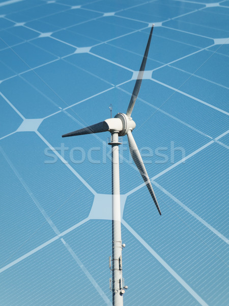 Sustainable energy concept Stock photo © ldambies