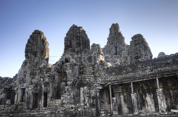 Templo angkor Camboja oriental lado crepúsculo Foto stock © ldambies