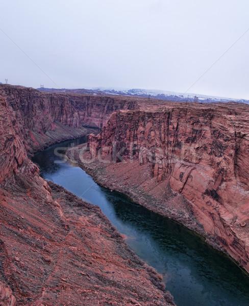 Glen canyon with colorado river Stock photo © ldambies