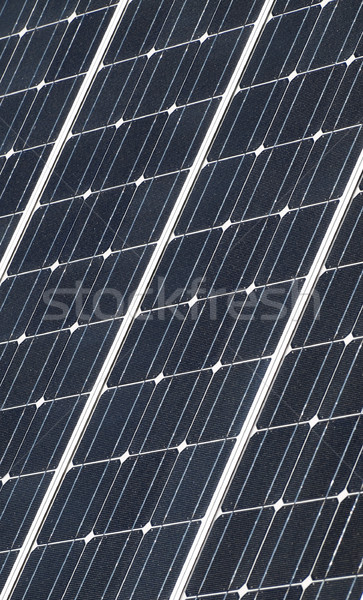 Solar panel closeup Stock photo © ldambies