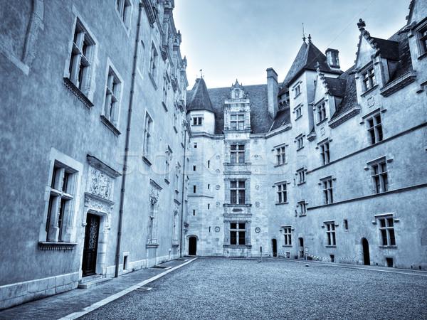 Castelo rei França edifício janela viajar Foto stock © ldambies
