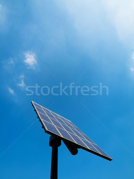 Solar panel Stock photo © ldambies