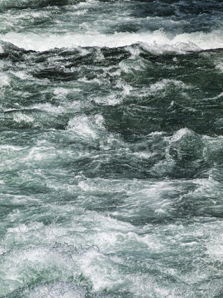 Stormy river Stock photo © ldambies