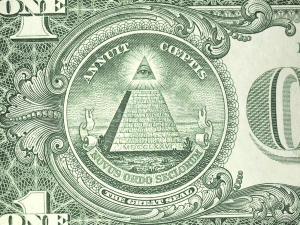 макроса один доллара законопроект печать американский Сток-фото © ldambies
