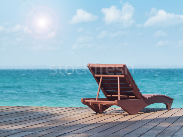 Praia recorrer vazio sul Foto stock © ldambies