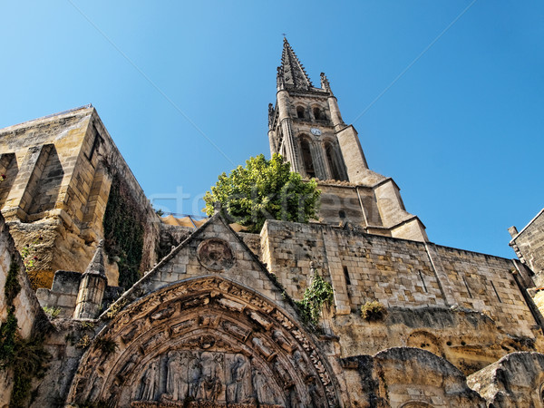 Saint Emilion village Stock photo © ldambies