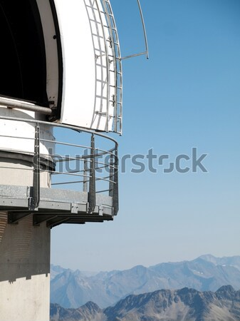 Telescope dome observatory Stock photo © ldambies