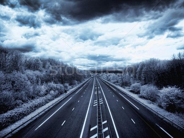 Infrared highway Stock photo © ldambies
