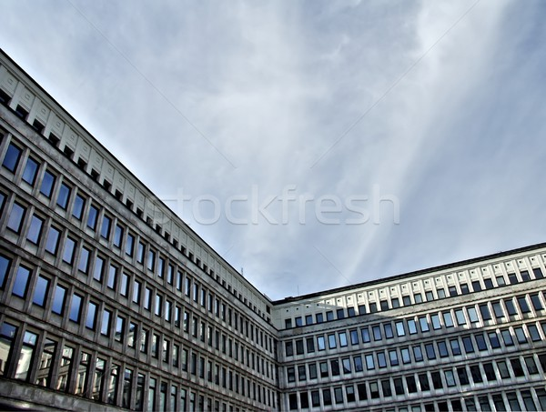 Offices building wide angle Stock photo © ldambies