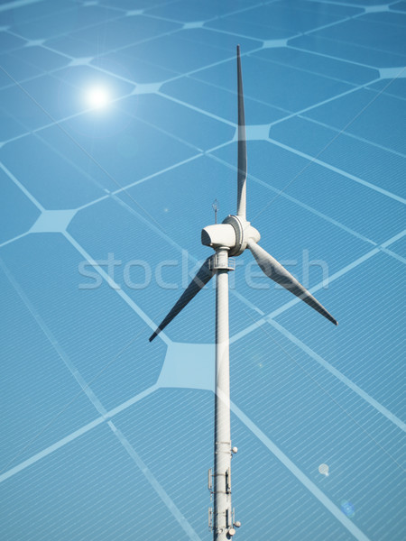 Sustainable energy concept Stock photo © ldambies