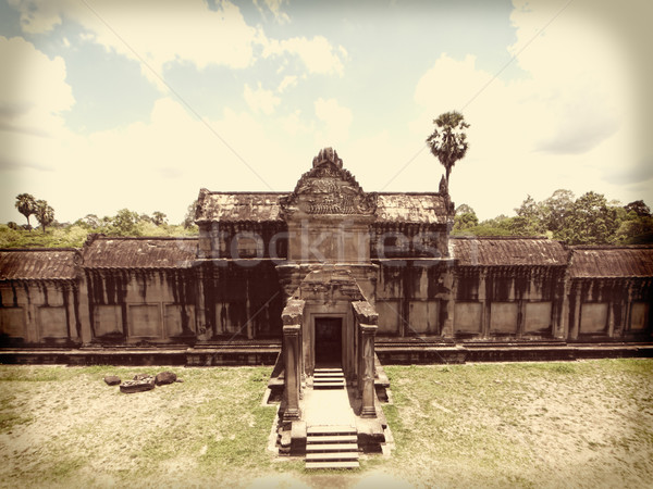 Angkor Wat temple Stock photo © ldambies