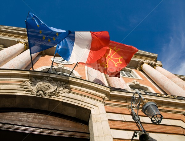 Toulouse city hall Stock photo © ldambies