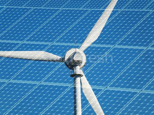 Wind turbine Stock photo © ldambies
