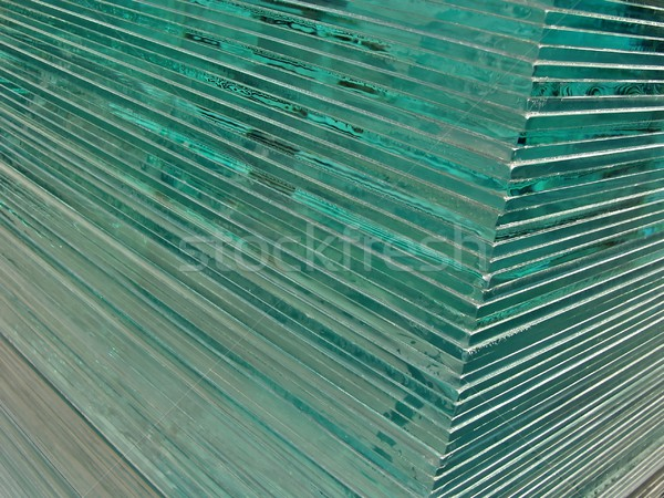 Glass sheets Stock photo © ldambies