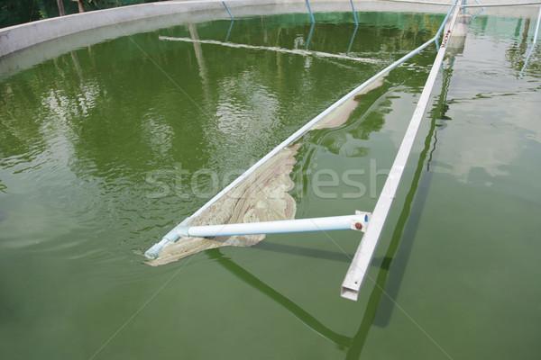 Aratás gyártás tank farm víz étel Stock fotó © ldambies