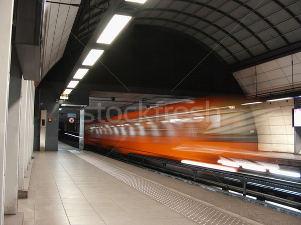 Subway train Stock photo © ldambies