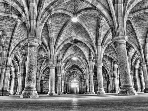 Glasgow Università hdr costruzione istruzione architettura Foto d'archivio © ldambies