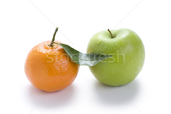 orange and apple Stock photo © leeavison