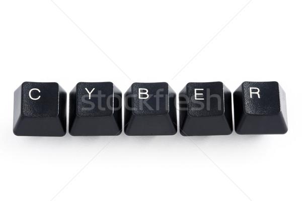 Számítógép kulcsok helyesírás internet billentyűzet kulcs Stock fotó © leeavison