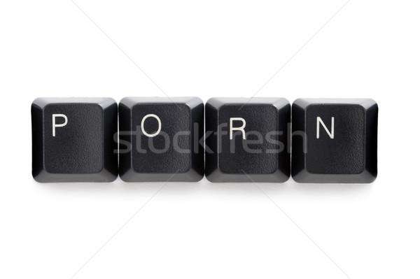 internet online cyber porn Stock photo © leeavison