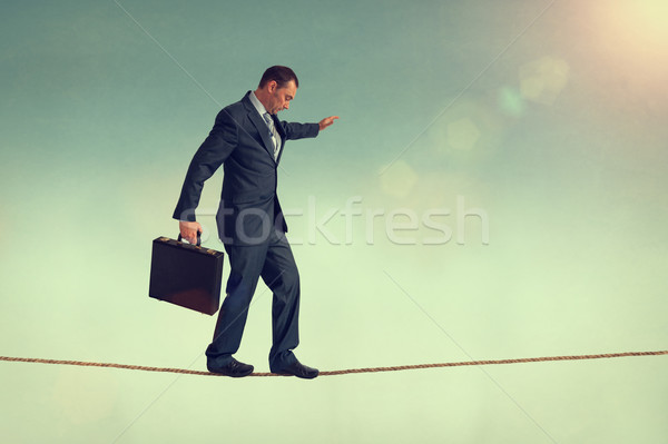 business balance Stock photo © leeavison
