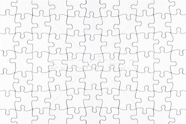 complete blank jigsaw puzzle  Stock photo © leeavison