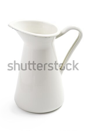 white jug or pitcher Stock photo © leeavison