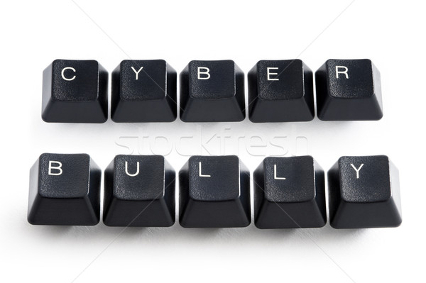 cyber bully Stock photo © leeavison