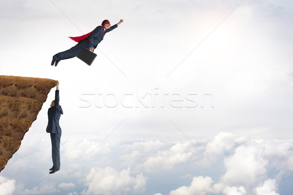 Stock photo: business challenge concept