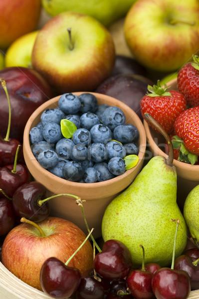 夏のフルーツ 作り出す 収穫 夏 秋 新鮮果物 ストックフォト © leeavison