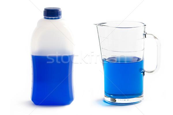 Sıvı plastik şişe cam sürahi konsantre Stok fotoğraf © leeavison