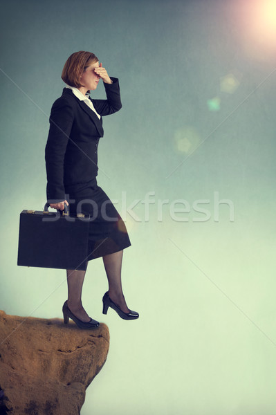 look before you leap Stock photo © leeavison