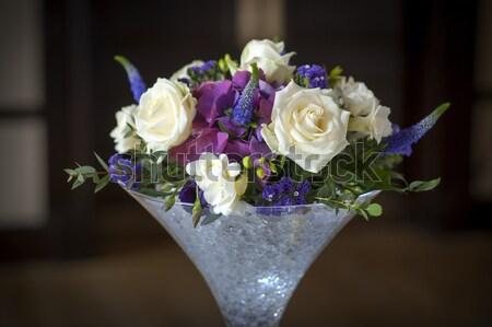 wedding centrepiece flowers Stock photo © leeavison